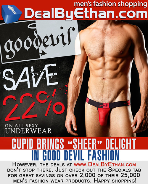 Good Devil Men's Underwear Sale