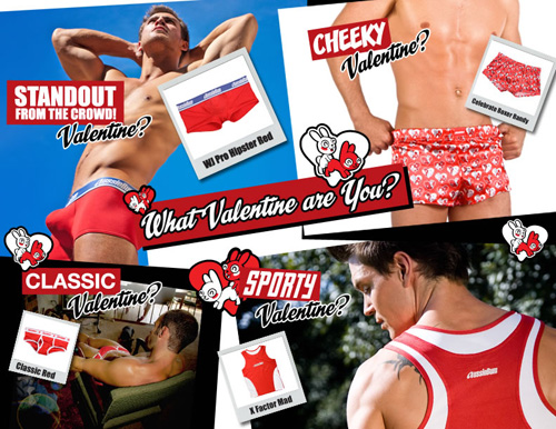 Valentines Collage Aussiebum