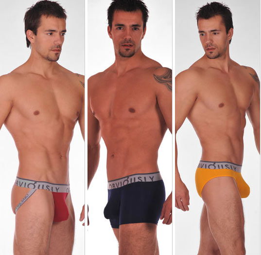 Its unique design and sleek style has seen the Obviously underwear