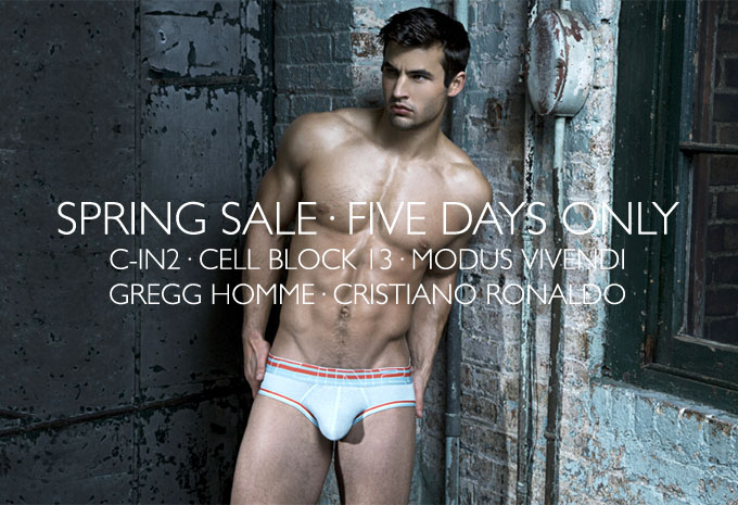 International Jock Spring Sale