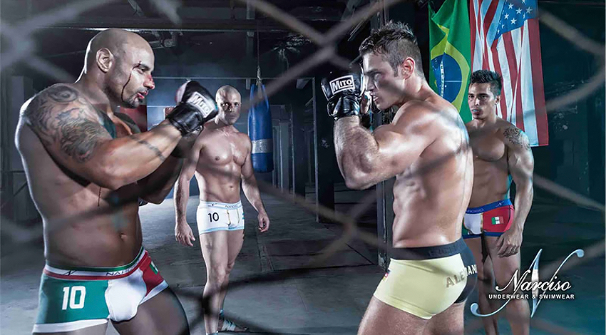 Narciso Underwear Fight Life 07