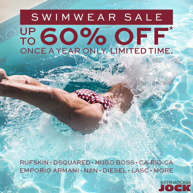 International Jock Swimwear Sale 2016