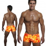 Tropical Passion Print Box-Cut Front and Back 495