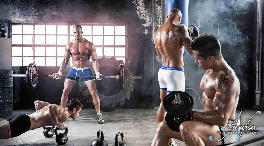 Narciso Underwear Fight Life 01