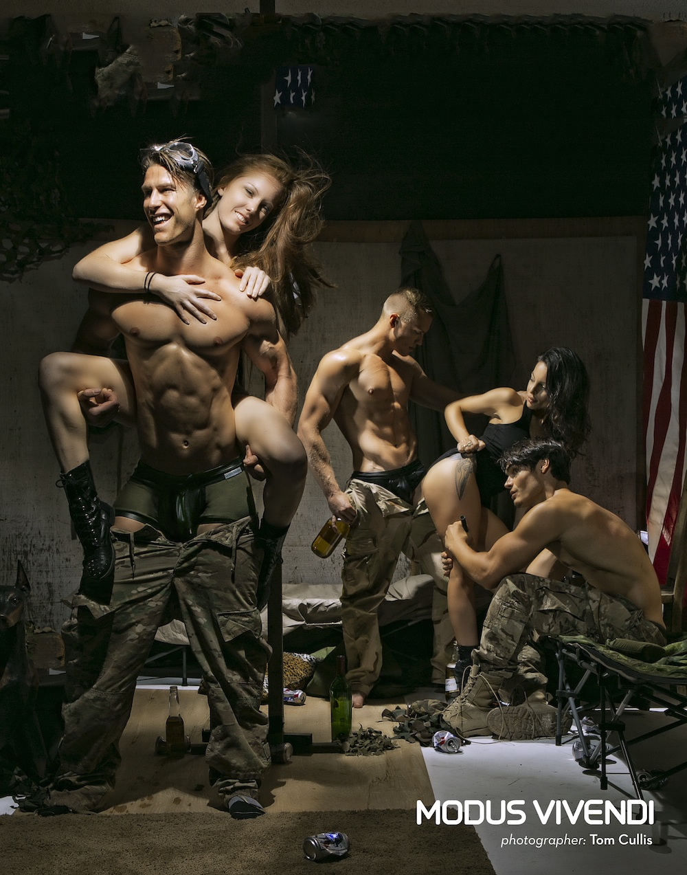 Modus Vivendi Military Line by Tom Cullis 008